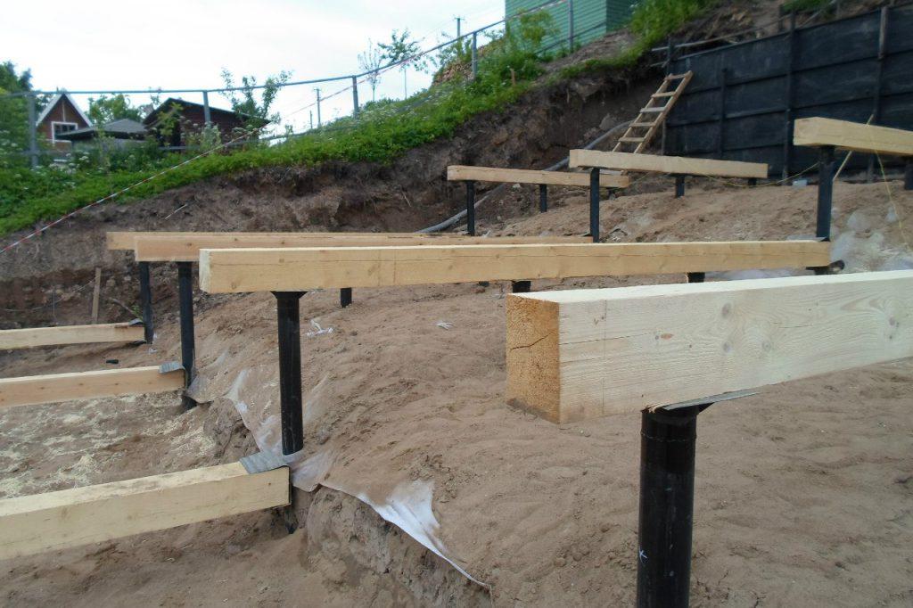 Строительство фундамента в Уфе