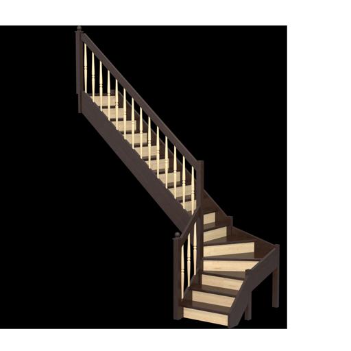 Изготовление и установка деревянных лестниц из различных видов древесины