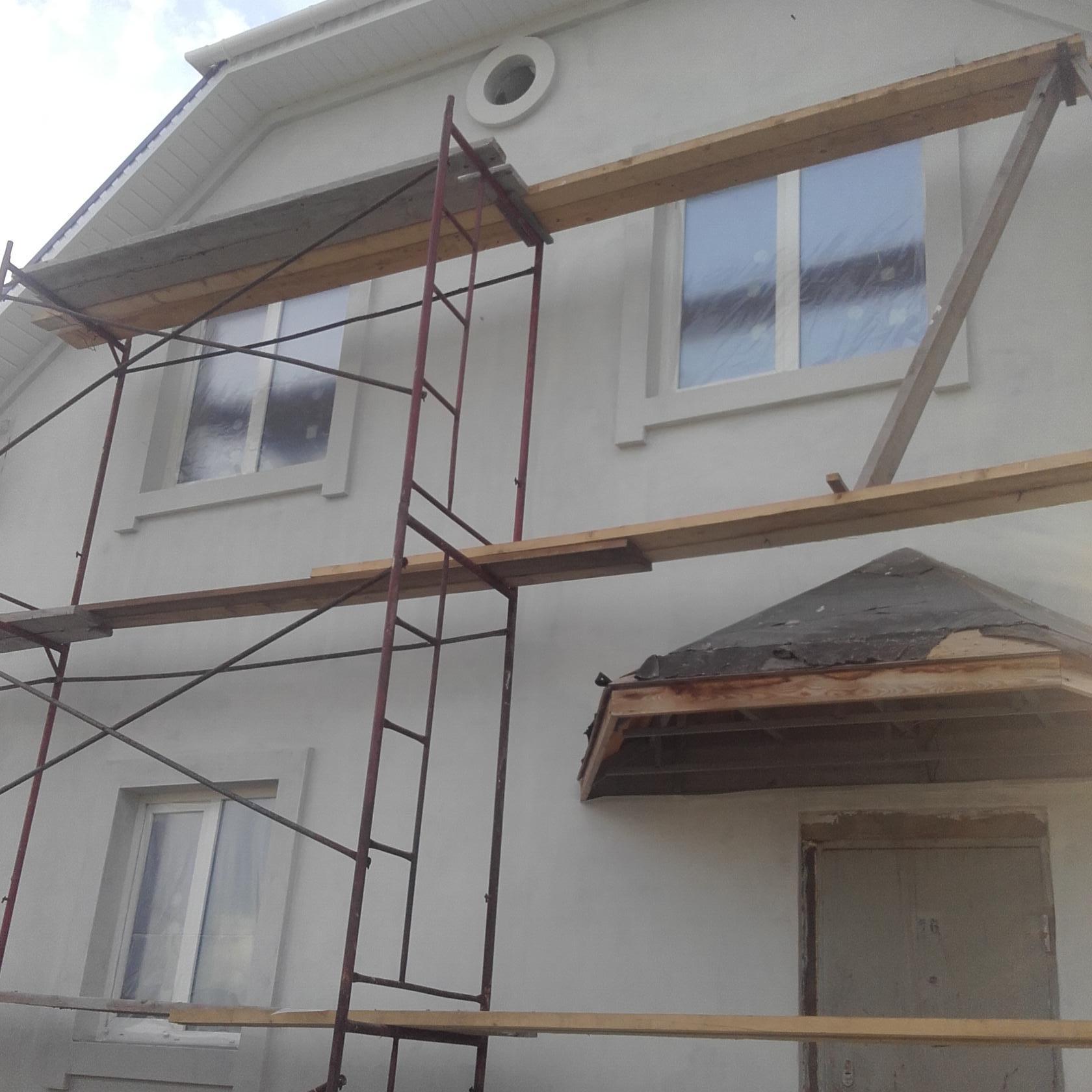 Отделка фасада частного дома стоимость