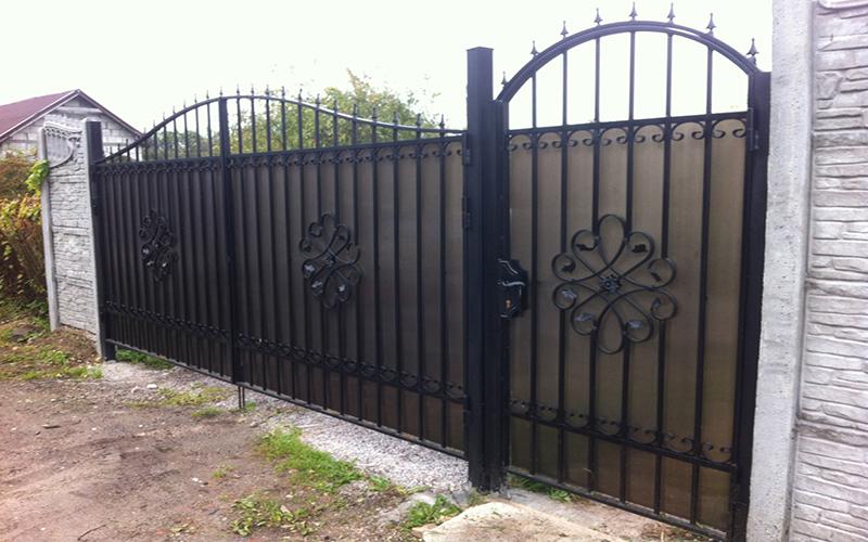 Ворота для частного дома Уфа