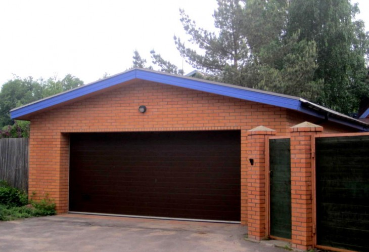 Сколько площадь гаража
