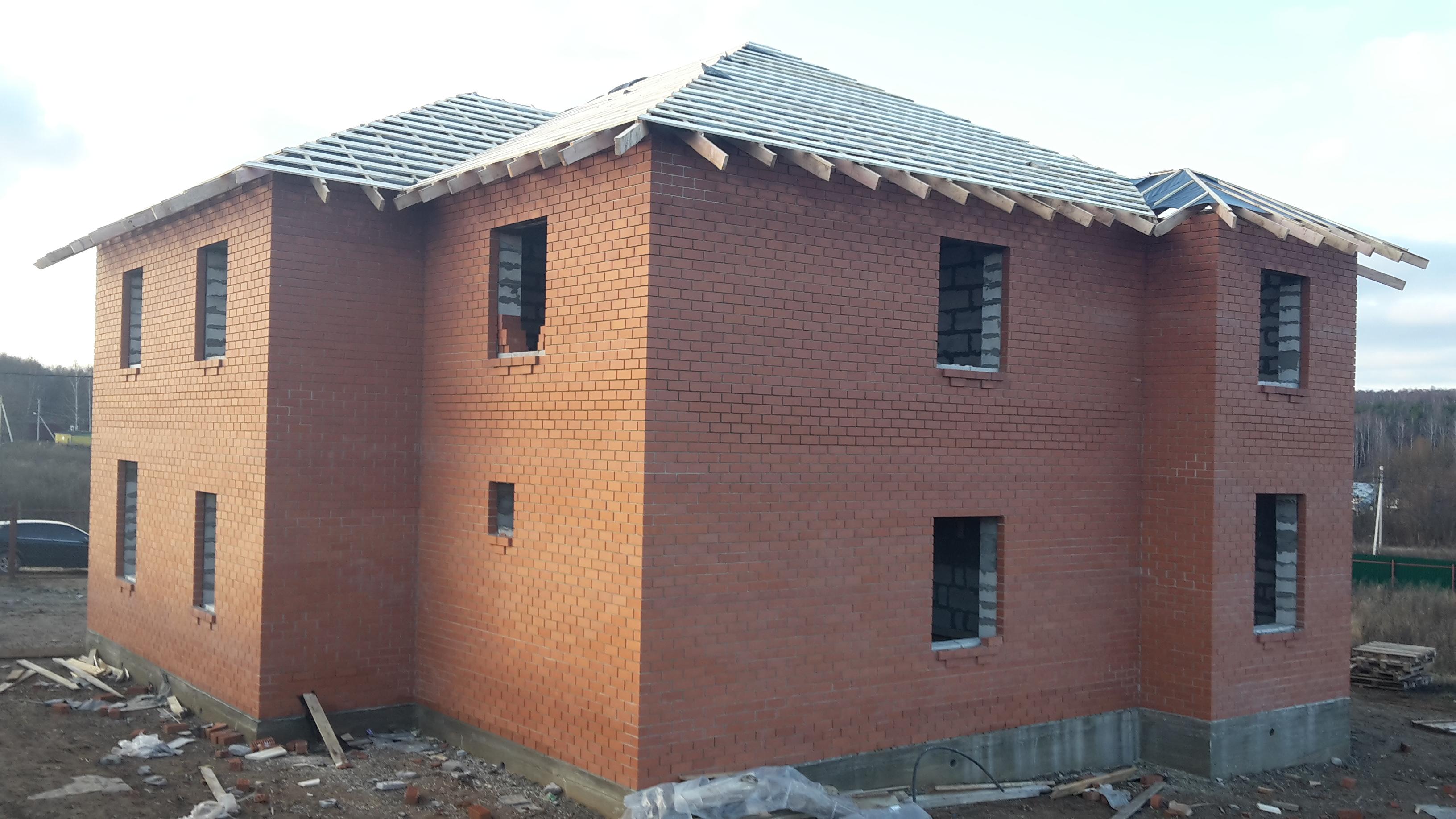 строительство домов из кирпича уфа