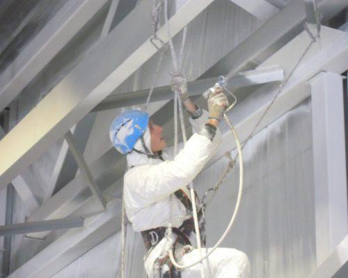 Покраска металлоконструкций в Уфе