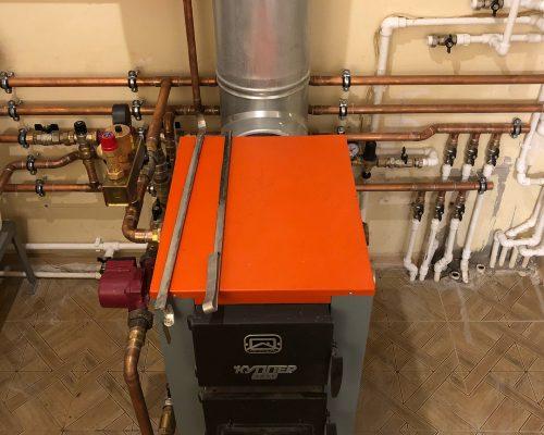 монтаж отопления дома в Уфе