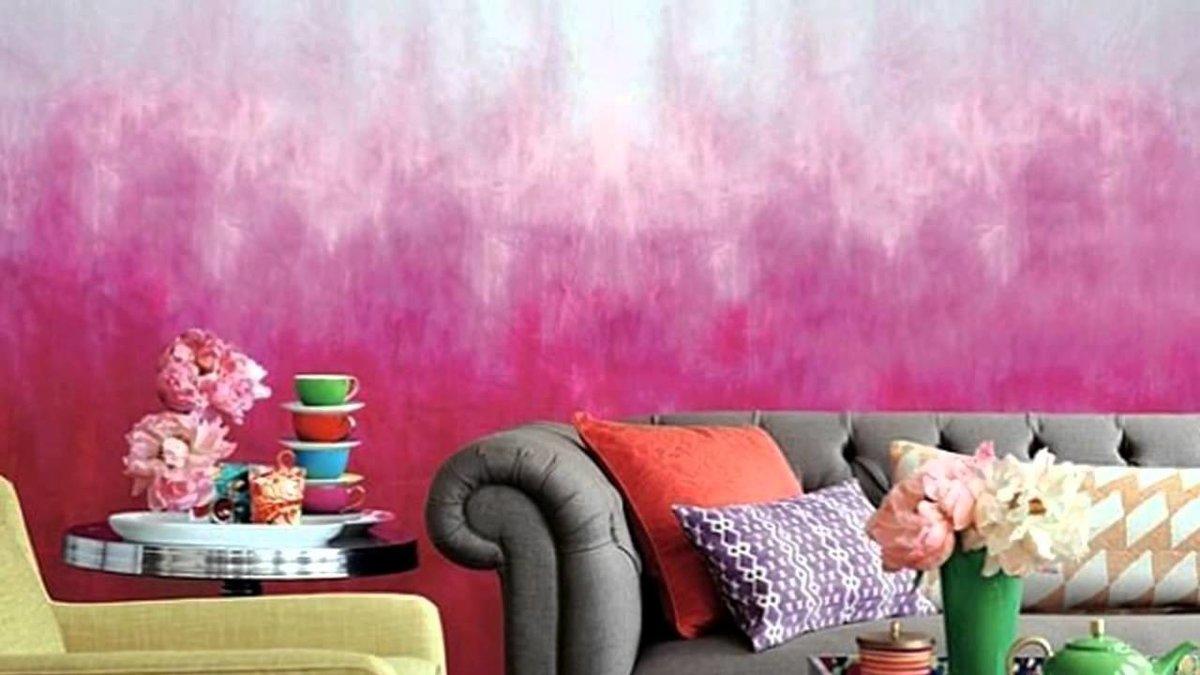 покраска стен цена за м2 уфа