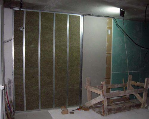 Шумоизоляция стен уфа