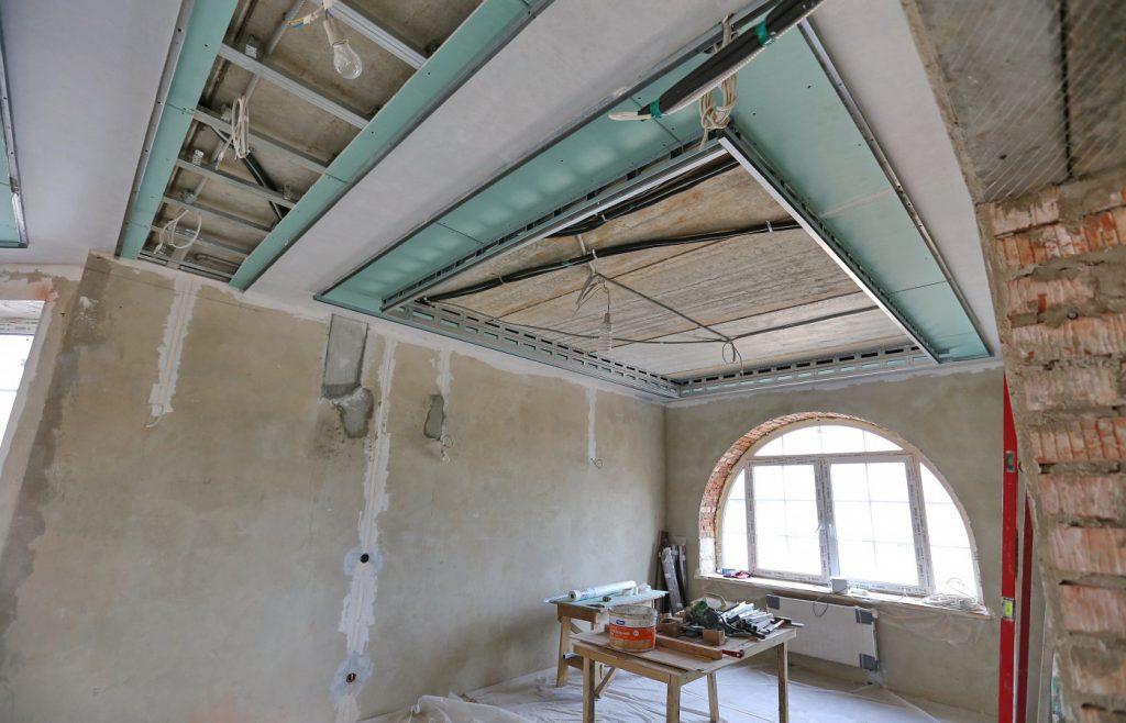 Потолок из гипсокартона в Уфе