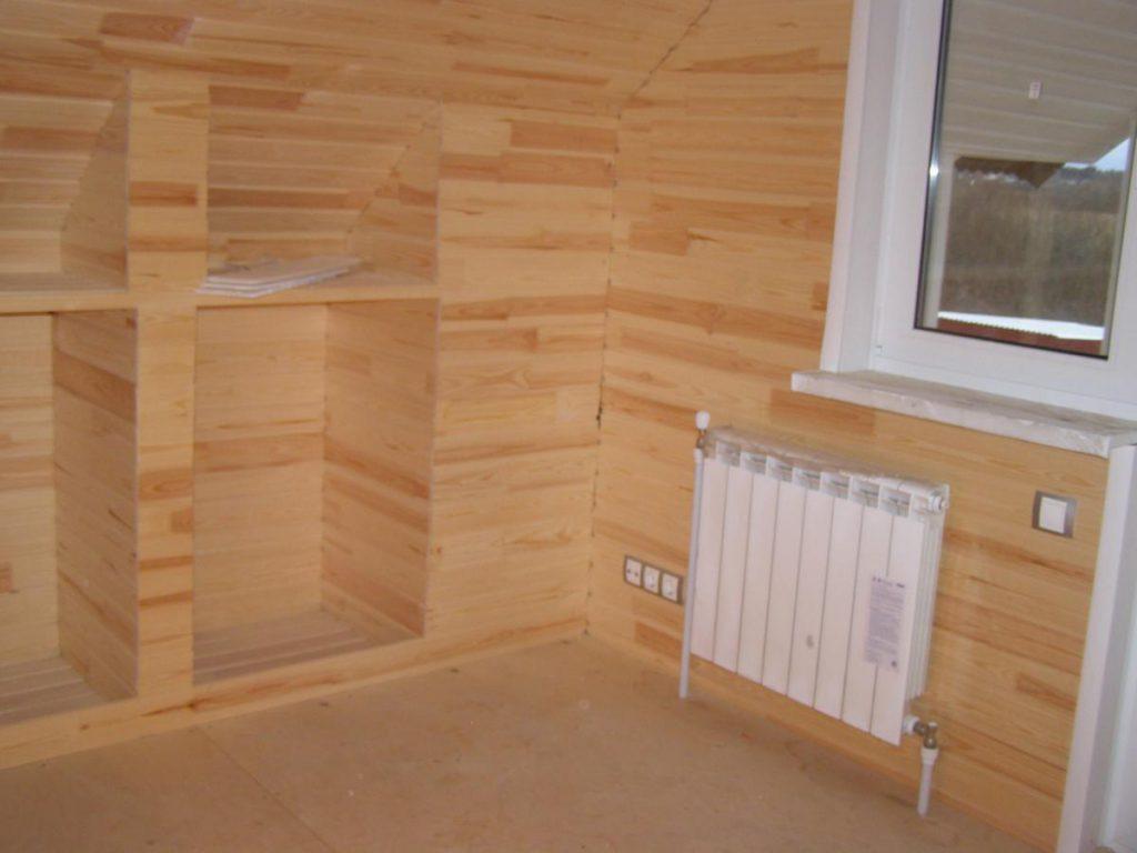 обшивка стен вагонкой в Уфе