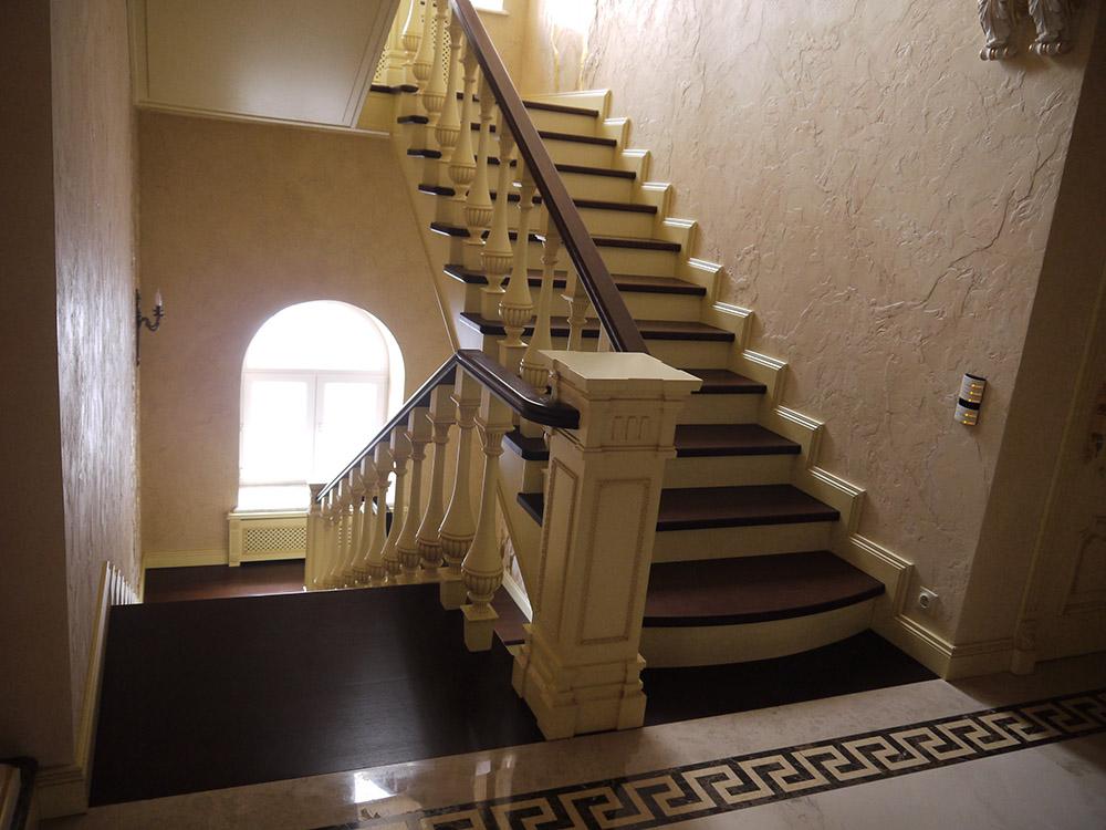 Обшивка лестницы уфа