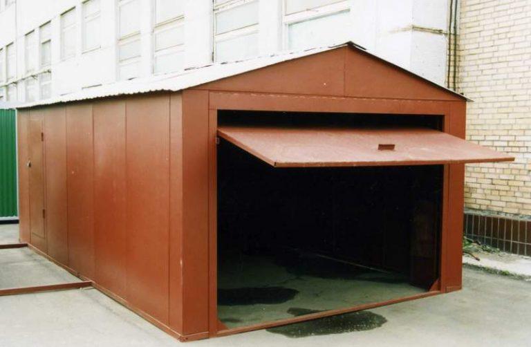 металлический гараж уфа