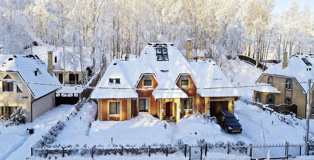 Зимние дома уфа
