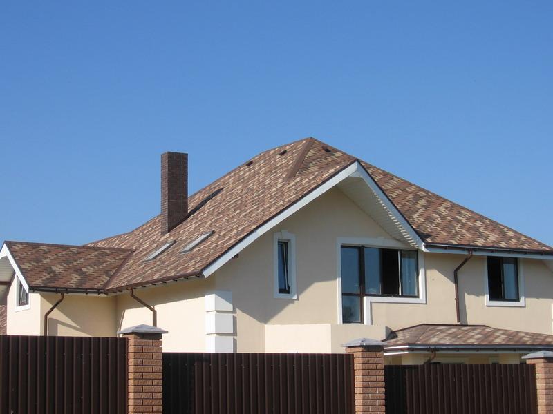 Крыша из гибкой черепицы