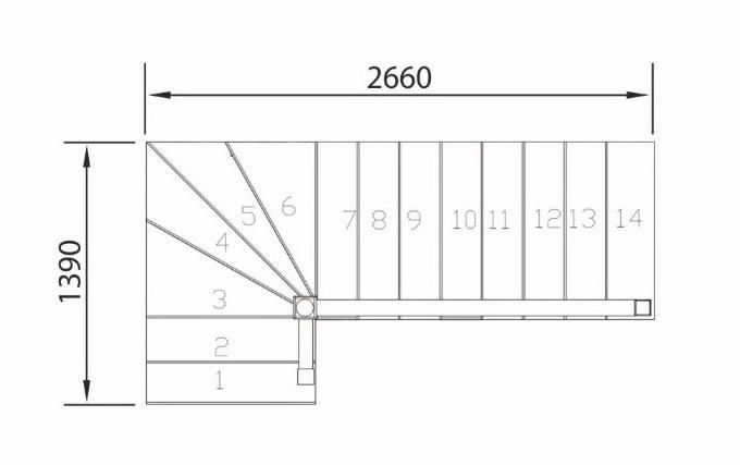 лестница межэтажная деревянная