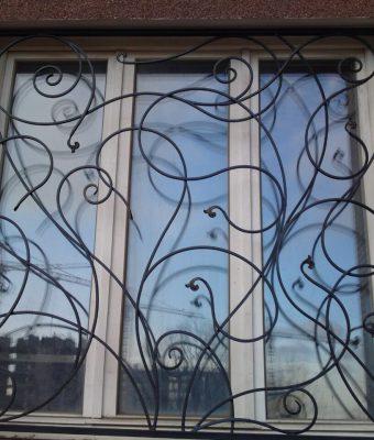 Кованые решетки в Уфе