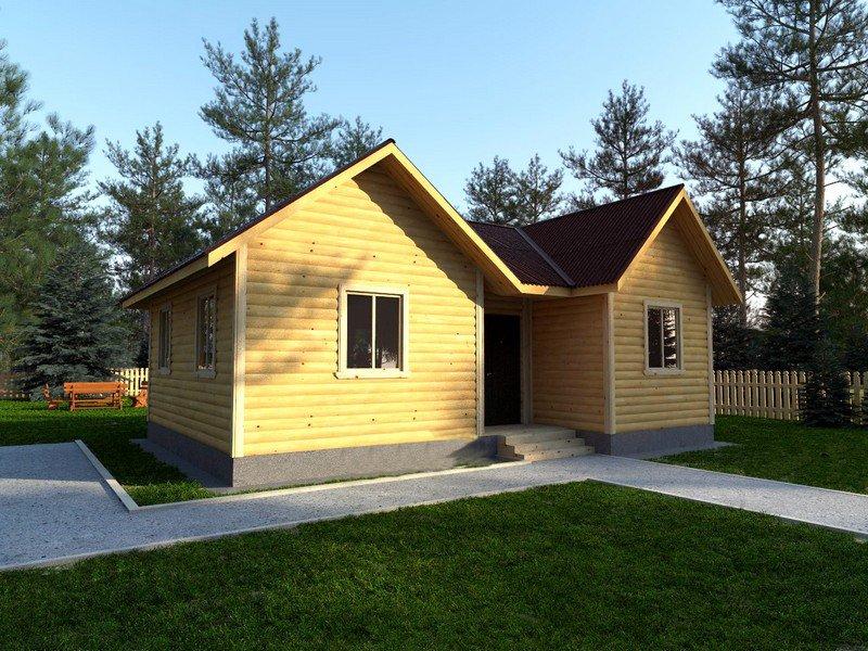 Дом из бруса проект и цена в Уфе